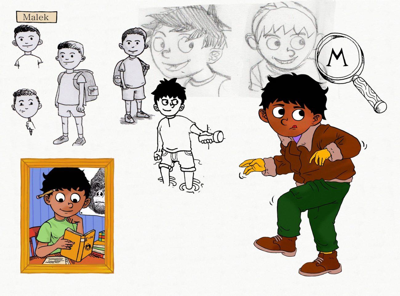 M-deckarna - Malek